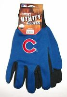 Chicago Cubs Utility Work Garden Jersey Gloves Free Shipping