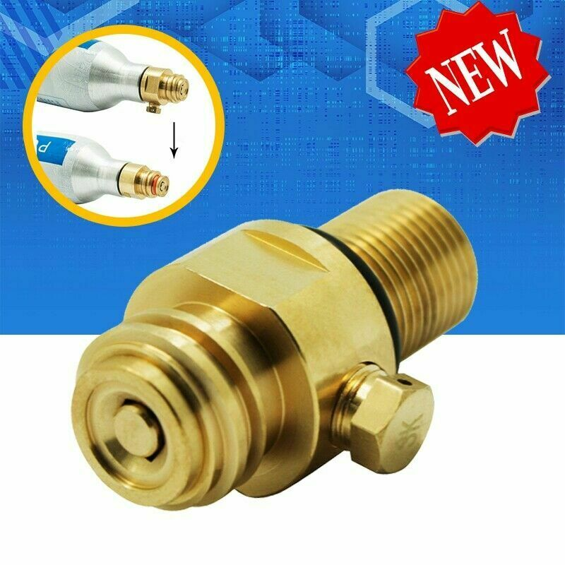New Threads M18*1.5 CO2 Tank Pin Brass SodaStream Pin Valve Maker Valve Adapter