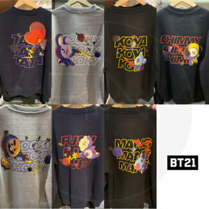 BTS-BT21-Official-Authentic-Goods-Space-Squad-Sweat-Shirts-Tracking