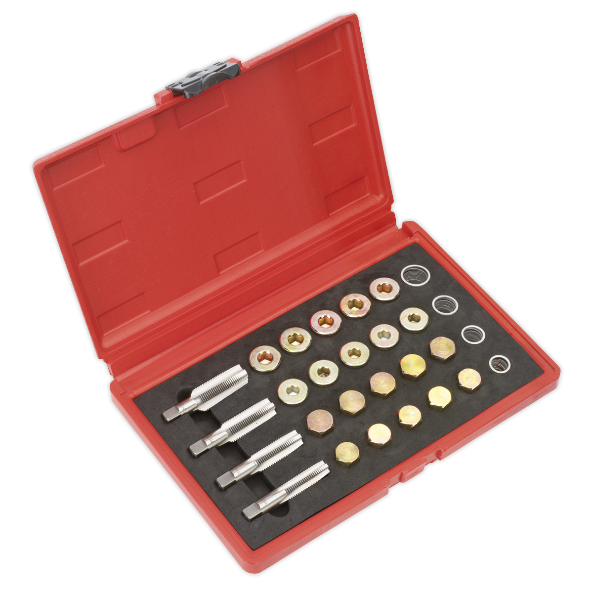 Drain Plug Thread Repair Set   SEALEY VS660