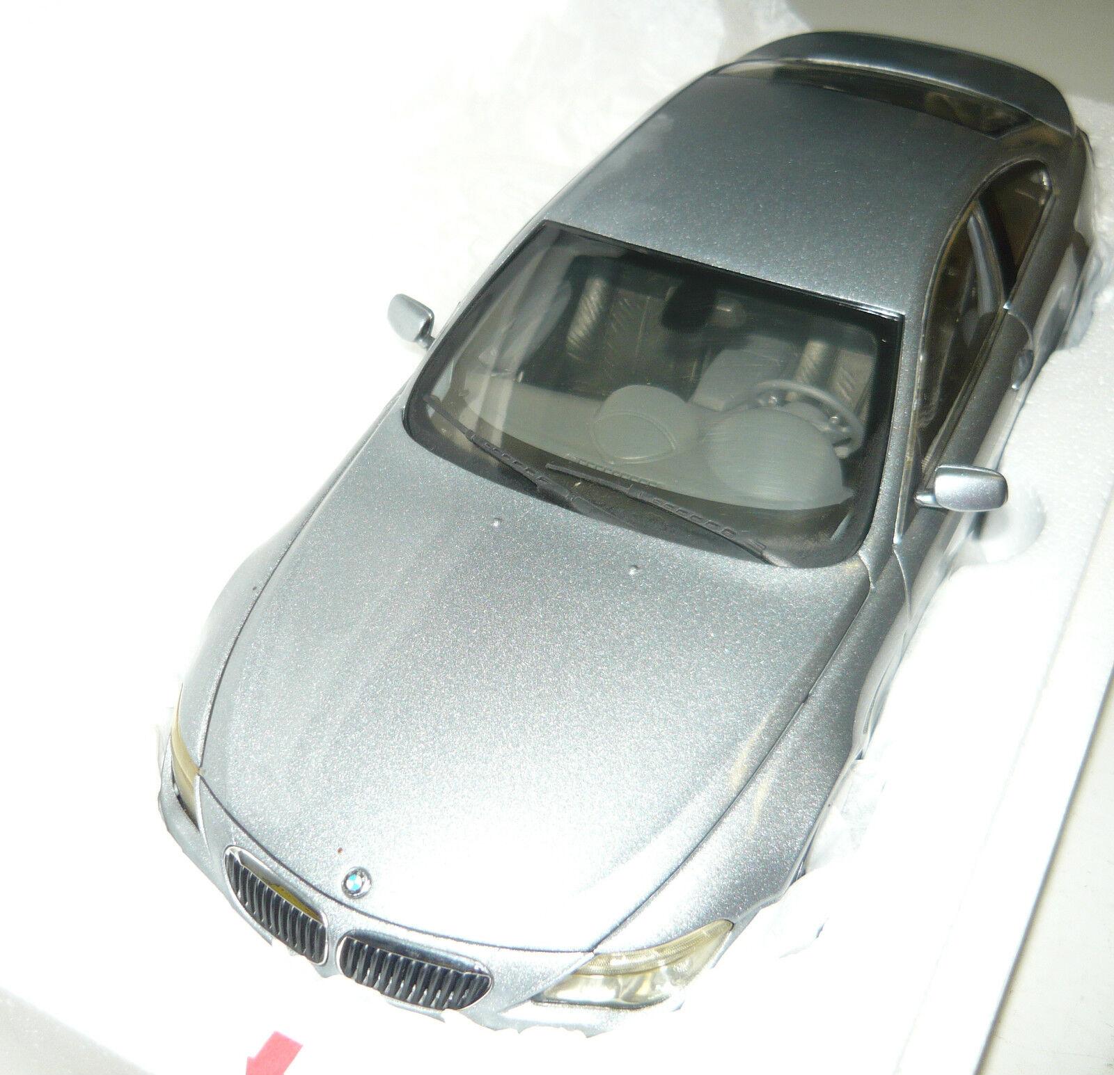 Kyosho 08701 S BMW 645ci Coupe, argent, 1 18, neu&ovp