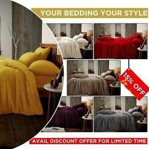 Teddy-Fleece-Extra-Deep-Duvet-Set-Cosy-Warm-Bear-Tog-Rated-Bedding-Set-King-Size