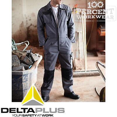 Delta Plus Mechanics Race Engineer Industry Work Overalls Boiler Suit Coveralls