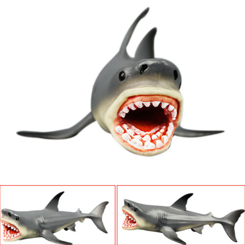 Megalodon Prehistoric Shark Ocean Education Animal Figure Model For Kids New