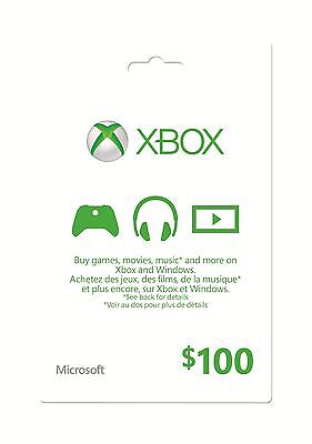 $100 Xbox Gift Card for $87.50!