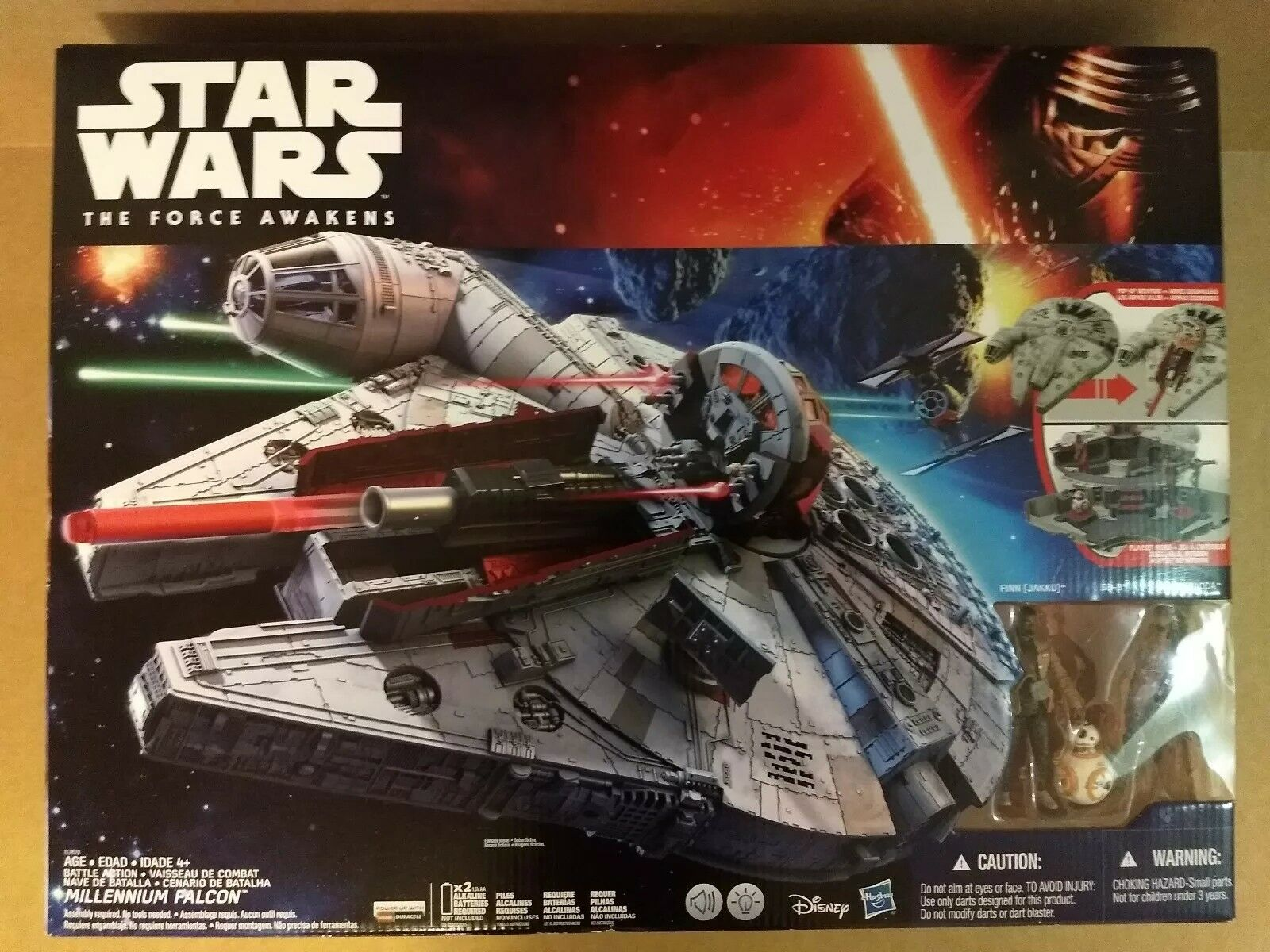 Star Wars The Force Awakens Battle Action Millennium Falcon Brand New 2015