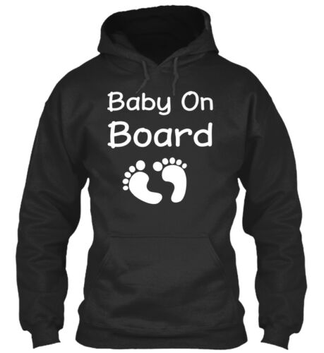On trend Baby On Board Maternity Womens T S Standard Standard College Hoodie