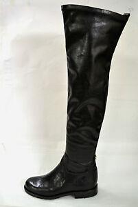 Stivali Sopra Italy In Ecopelle Al Donna Ginocchio Misura Boots Su Made Elastica ZqRxErwZUz