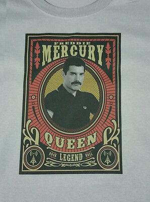 QUEEN  new T SHIRT freddie mercury glam rock All sizes S M L XL
