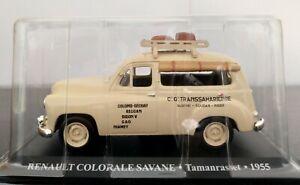1-43-RENAULT-COLORALE-SAVANE-TAXI-TAMANRASSET-1955-IXO-ALTAYA-ESCALA