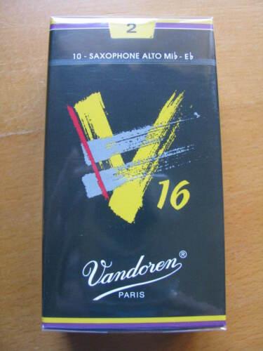 Vandoren V16 Altsaxophonblätter Stärke 2  EINZELBLATT