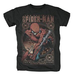 MARVEL-COMICS-Spiderman-Spider-Man-World-s-Greatest-T-Shirt