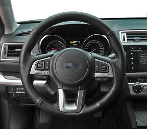 Steering-Wheel-Cover-Stitch-on-Wrap-for-Subaru-2015-Legacy-Outback-Forester-2017
