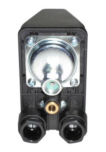 "3 0-12 Press Button Pta 12g 1//4 /"" 0 bar for Compressors 400v//220v Made In"