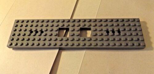 grey CHASSIS BASE LEGO CITY TRAIN new-  REF tb 6584