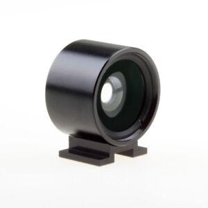 21 Mm Viseur Optique Pour Ricoh Gr Gr2 Grd Fuji X70 Sigma Dp Dp1s Large Angle-afficher Le Titre D'origine Blanc Pur Et Translucide