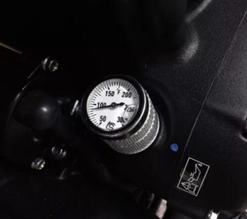 Triumph Classics Oil Temp Gauge Fahrenheit Silver Street Twin T120 T100 Thruxton