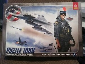 Puzzle-Legend-Of-Us-Army-Collector-Edition-1000-Pieces-F-16-Fighting-Falcon