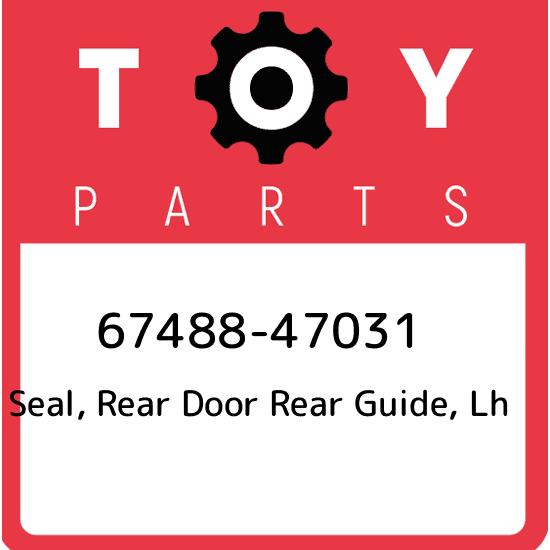Genuine Toyota Parts 69804-35080 Driver Side Rear Door Glass Regulator
