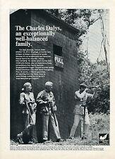1966 Charles Daly 12 20 & 28 Guage Shotgun Skeet Print Ad