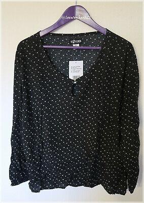 ANASTASIA Shirt Bluse schwarz-grün Lagenlook 3//4Arm Größe 38 40 NEU B270