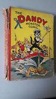 DANDY MONSTER COMIC 1942 vintage annual