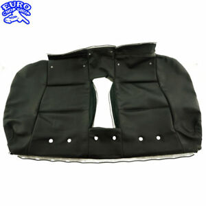 REAR-SEAT-BACK-SKIN-COVER-BLACK-BMW-E90-330i-2006-06-07-08-09-328i-335i-sedan