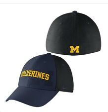 c0291396c3801f item 6 Nike Michigan Wolverines One Size Flex Dri Fit Hat Blue   Black Classic  99 -Nike Michigan Wolverines One Size Flex Dri Fit Hat Blue   Black Classic  ...