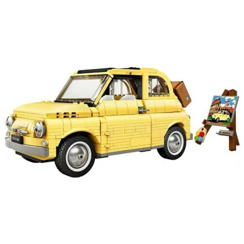 998pcs Building Blocks Bricks FIAT 500 City Car Creator Series Model Toy DIY Fun