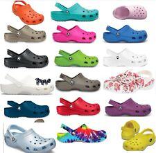 25 + colors, CROCS Original CLASSIC Clogs Shoes sandals sizes  4 -17, vegan