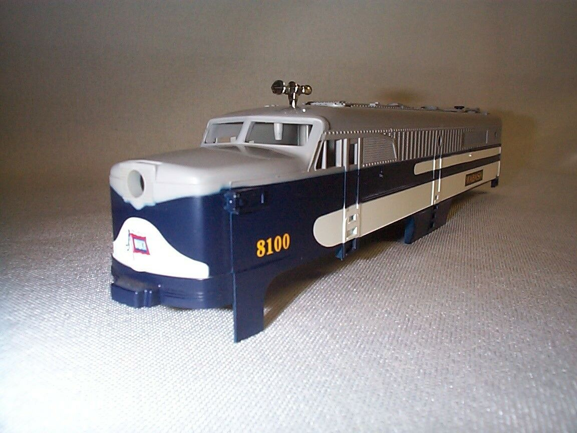 Lionel American Flyer 48100  8100  WABASH PA Power A-Unit Shell NOS