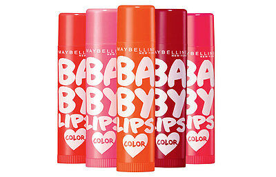 Baby Lips Color Lip Balm Translucent Color & Shine !!!