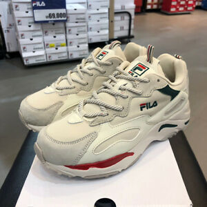 Details about FILA Ray Tracer Women Sneakers Fashion Ugly Shoes Beige  Restock FS1SIB1460X