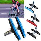2x Mountain MTB Bike Bicycle Cycling Abrasive Rubber V-Brake Shoes Pads Holder