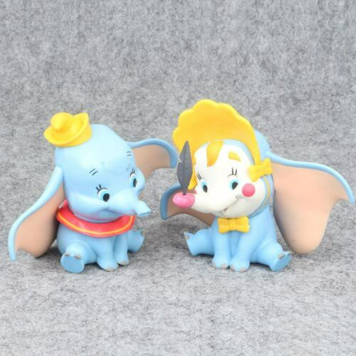 New Anime Movie Dumbo PVC Action Figure Doll Collection Model Kids Gift Toys