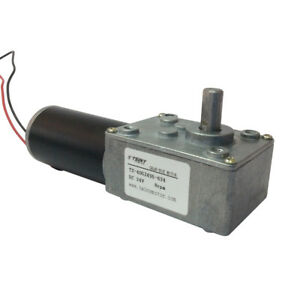 Small-Low-8rpm-Right-Angle-Speed-Reducer-24v-DC-Geared-Motor-with-8mm-Out-Shaft