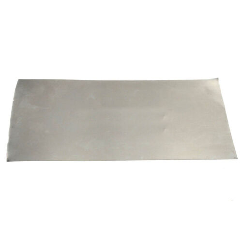 High Purity Thin Sheet Nickel Plate Foil 0.3mm x 100mm x 200mm Metal Industry