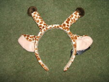 Giraffe ears on headband wild safari animal Roald Dahl book costume accessory