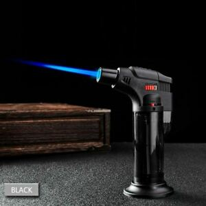 Kitchen-Butane-Lighter-Cooking-Torch-Refillable-Adjustable-Flame-Lighter-BBQ