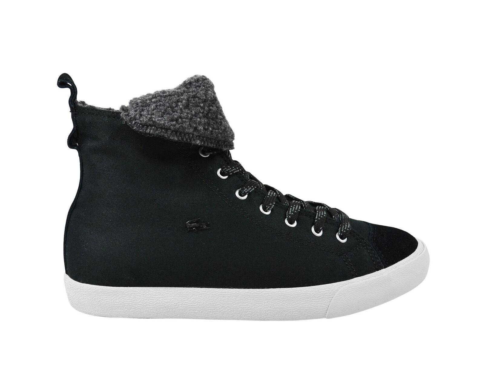 Lacoste l27 outdoor mid SRW Black zapatos/cortos negro tamaños selección!