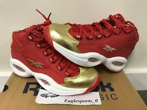 b016f6f3ab3 Image is loading REEBOK-QUESTION-MID-VALENTINES-IVERSON-SCARLET-DS-SZ-