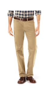 Men-039-s-Dockers-Soft-Stretch-Jean-Cut-Straight-Fit-Pants-khaki-color-58-00