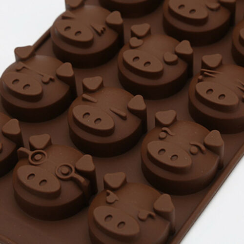 Chocolate Baking Mold Biscuit Mold Brownies Silicone Baking Molds