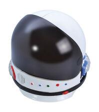 Blanco/Negro #ASTRONAUT casco earospace Hombre Fiesta De Disfraces Adulto Accesorio