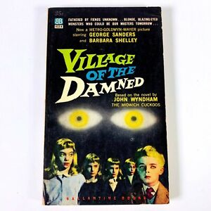 Village-of-the-Damned-Movie-Tie-In-1st-Ballantine-Books-Paperback-1957-VG