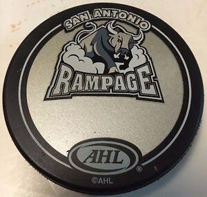 2000's San Antonio Rampage Souvenir Hockey Puck AHL