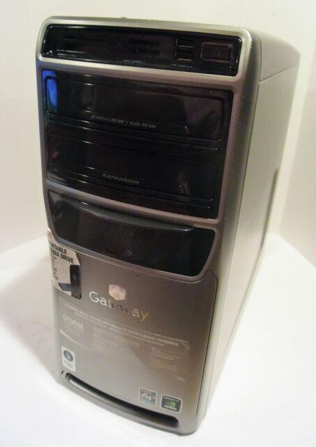 Gateway GT5476E Desktop PC (AMD Athlon 64 X2 2.6GHz 2GB 250GB Win 10 Pro)