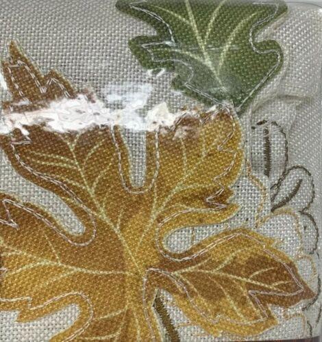 "Bed Bath /& Beyond Windsor Fields Tablecloth 60""X104""Oblong Fall//Thanksgiving NEW"