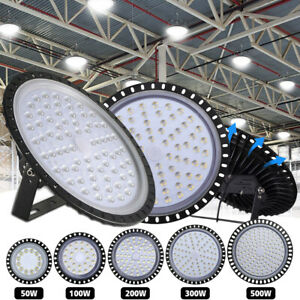 UFO-LED-Hallenleuchte-50W-100W-200W-300W-500W-Industrielampe-Hallenstrahler-220V