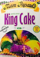 Mam Papaul's Mardi Gras King Cake Mix with Praline Filling, 28.5oz (2 Pack)